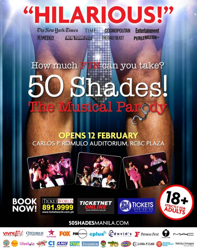 50 Shades! The Musical Parody Manila Poster