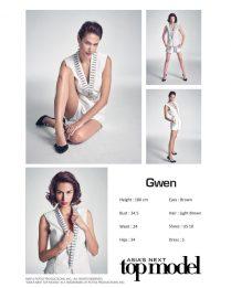 AsNTM4 Episode 3 Photoshoot -Gwen