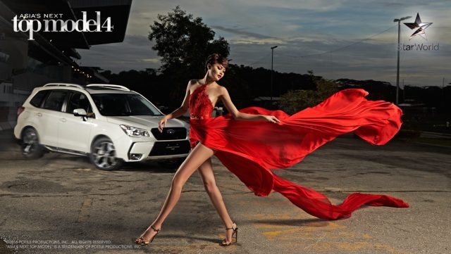 Tawan for Asia's Next Top Model Cycle 4 Subaru photoshoot