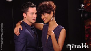 AsNTM4 Episode 7 - Tuti with guest model Mike Lewis at the photoshoot
