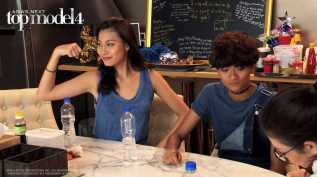 AsNTM4 Episode 9 - Patricia shows her guns at the model house