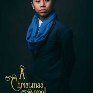 """Andre Ruelo as Jonathon and Scrooge at 12 in Alan Menken and Lynn Ahrens' """"A Christmas Carol The Musical"""" from 9 Works Theatrical and Globe LIVE!"""