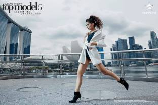 Maureen in Asia's Next Top Model Cycle 5 Episode 1