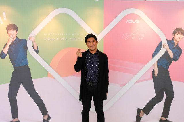 Oppa pose with Gong Yoo (oppa), ASUS Zenfone 4 global ambassador