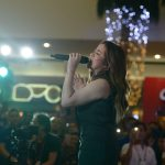Angeline Quinto performs to mark the end of Day 1 of the Taiwan Excellence Experience Zone