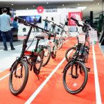 Hi-tech bikes at the Taiwan Excellence Experience Zone