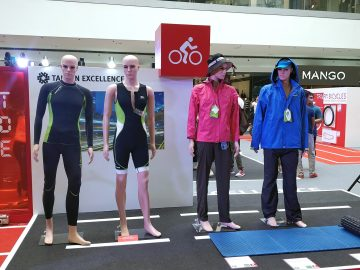 Sportswear for maximum performance and comfort at the Taiwan Excellence Experience Zone