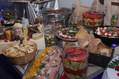 Buffet Table at a Wedding