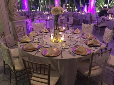 Round Table Settings