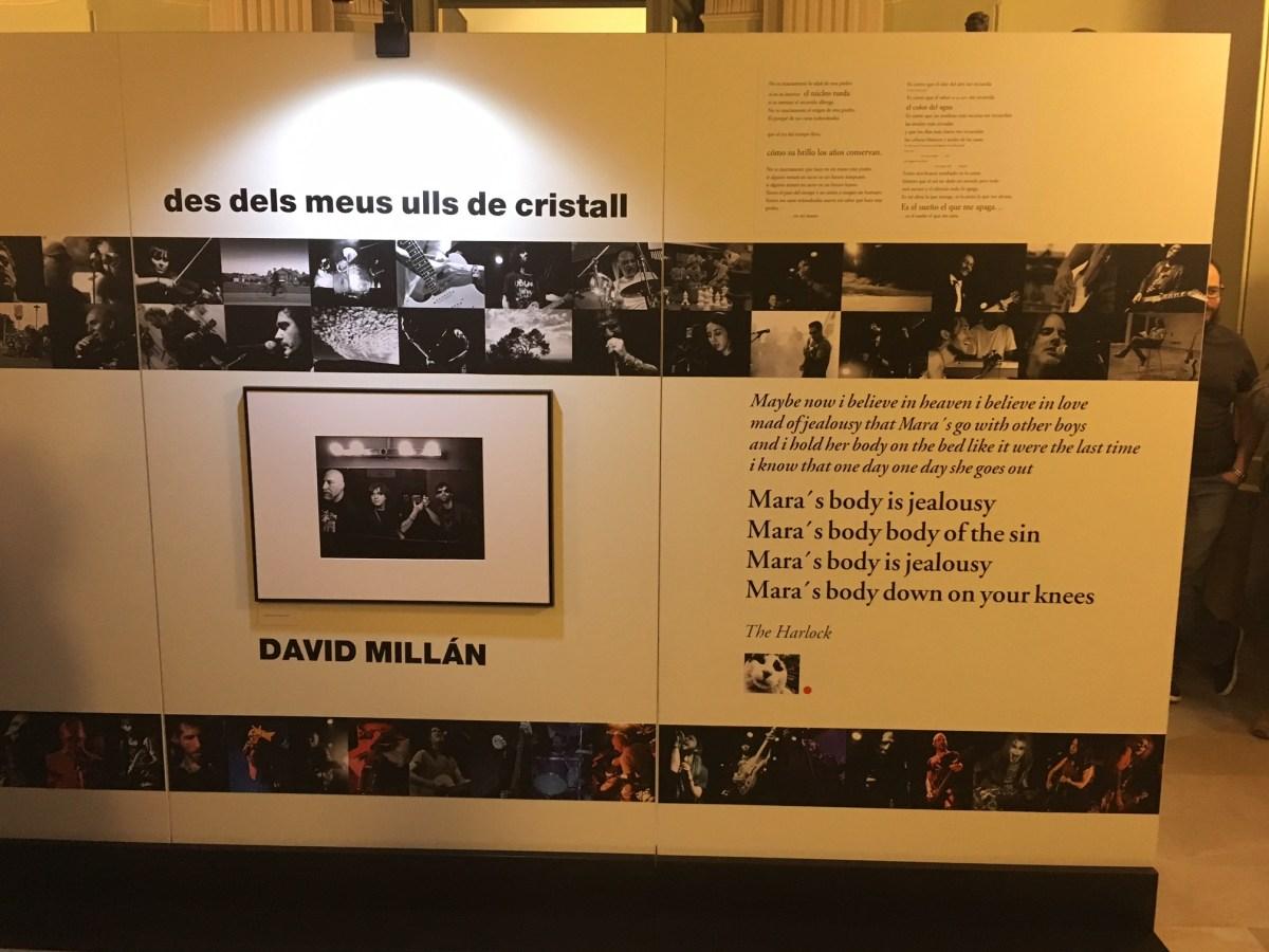 Inauguració exposició David Millán