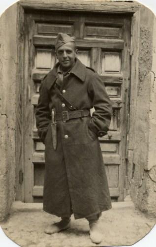 Simó al front de Madrid, 1938. Foto arxiu família Dot.