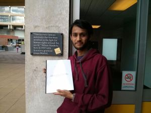 Anubhav Dutt Tiwari on his LLM from Essex University