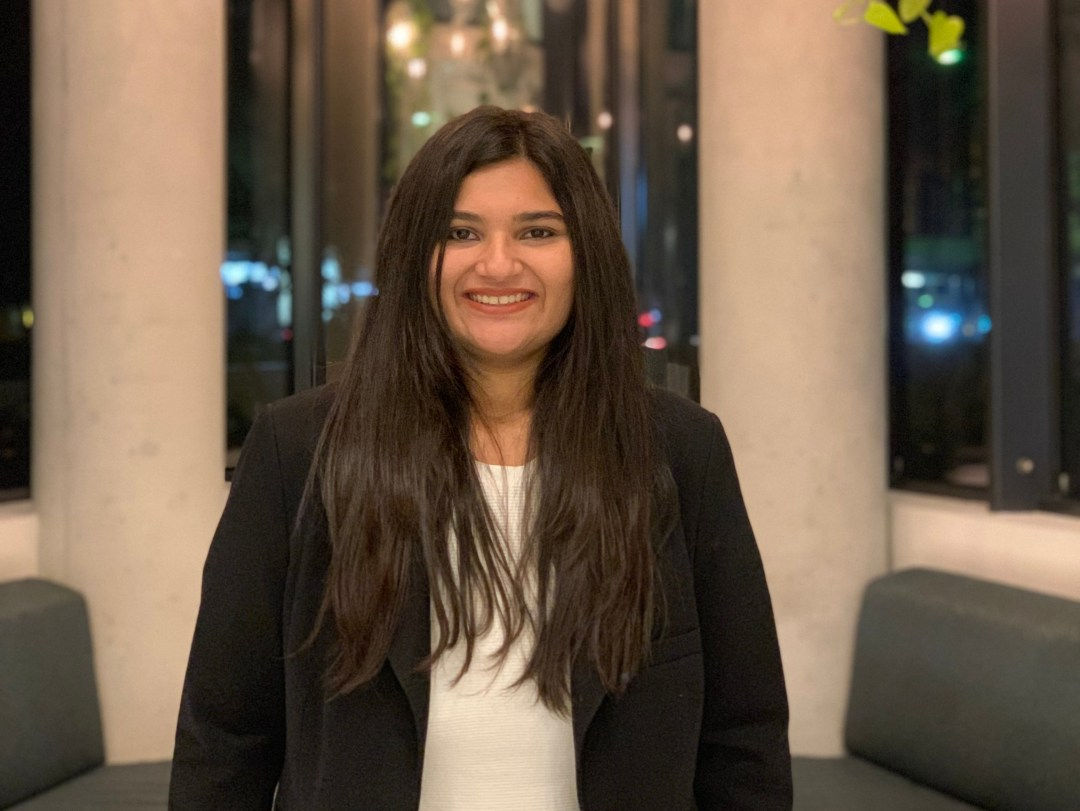 Labdhi Jhatakia, LLM candidate at University of New South Wales,