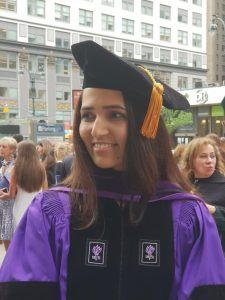 Aarushi Bhatnagar, LLM from New York University NYU