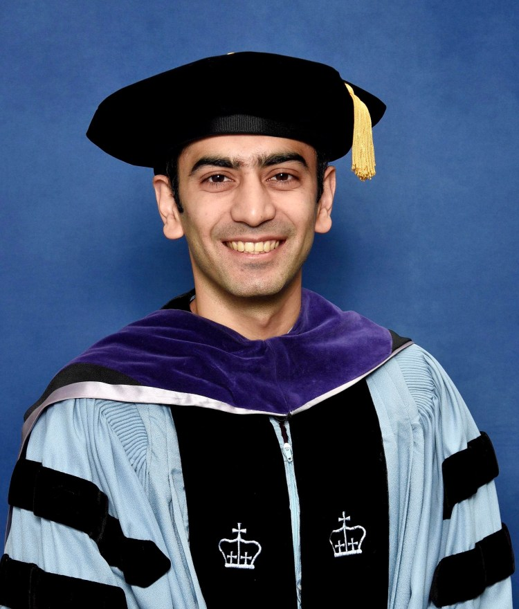 Hiresh Choudhary recently graduated with an LL.M. from Columbia Law School