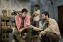Arian Moayed, Sanjit De Silva, Daoud Heidami in MASKED