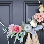 Diy Fall Hoop Wreath Amidst The Chaos