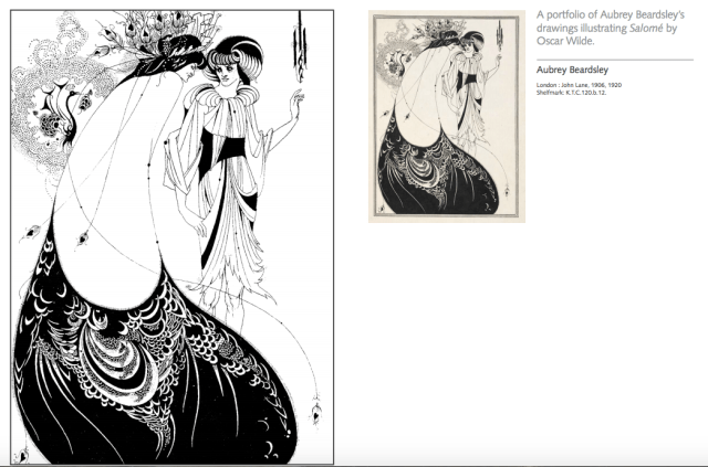 British Museum colouring Beardsley