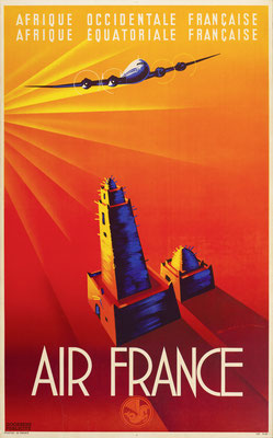 air france deco poster