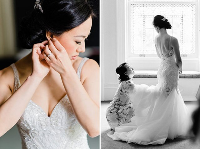 baltimore wedding: the engineers club: bridal hair and makeup