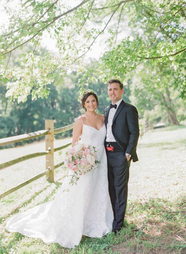 breathtaking baltimore tented wedding: boho bridal hair and