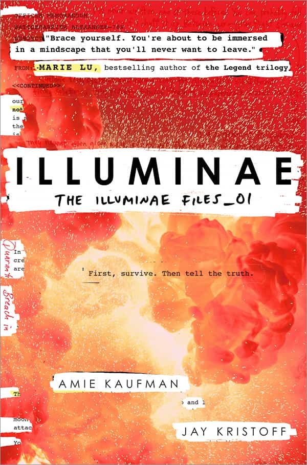 Image result for illuminae files covers