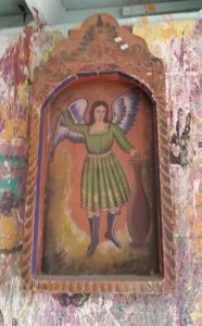 Amigas4all primitive mexican painting diy do it yourself diy living thrifty angel