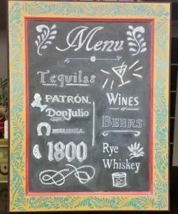 amigas4all featured image mexican flair chalkboard menu transfer stencil lettering