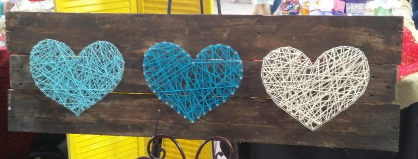 amigas4all things to do AZ old wood hearts