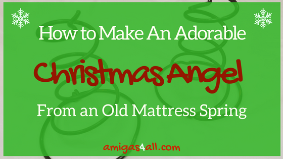 How to Make an Adorable Christmas Angel From an Old Mattress