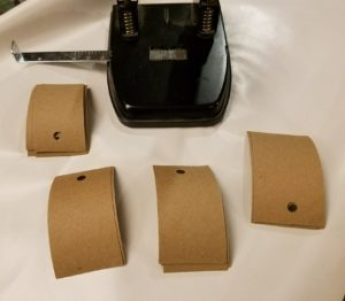 image of gift tags with holes