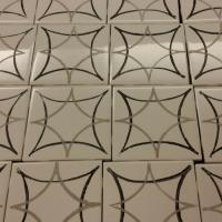 How to Make a Fabulous Faux Cement Tile Backsplash