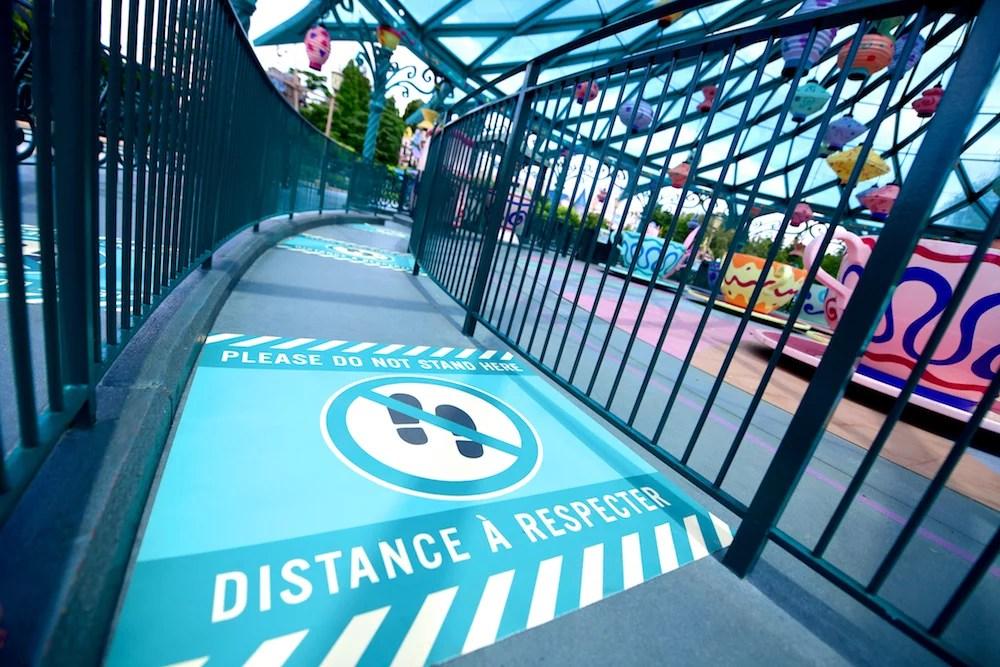 como está a Disneyland Paris após a reabertura e os protocolos que estão sendo adotados.
