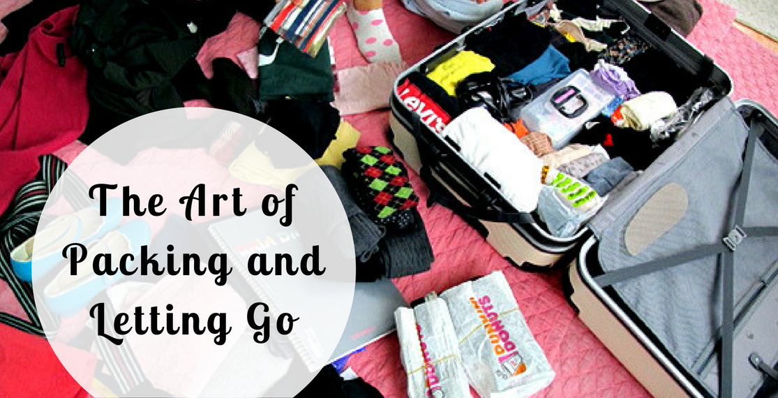 The Art of Packing and Letting Go of Books, Appliances, & Things That Won't Fit into Your Luggage