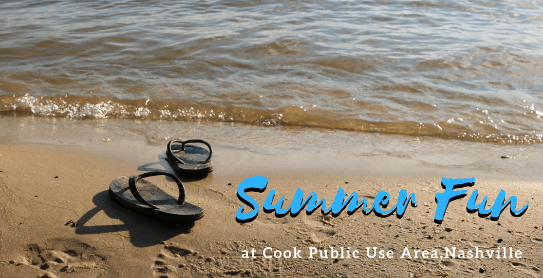 Summer Fun at Cook Public Use Area in Nashville TN
