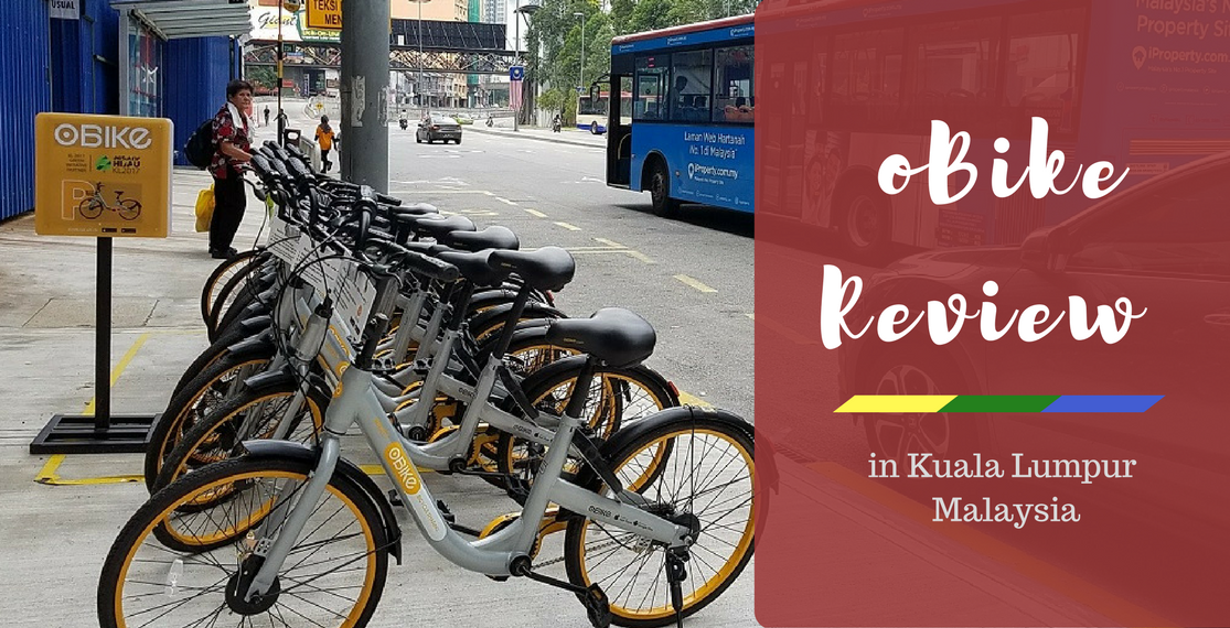 Review of oBike Bike-Sharing App in Malaysia