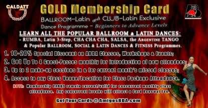GOLD Club Membership Gift Certificates