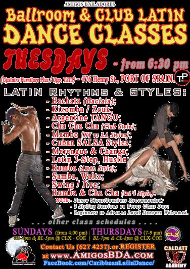 Ballroom & Latin Dance Classes in Port of Spain, trinidad & Tobago