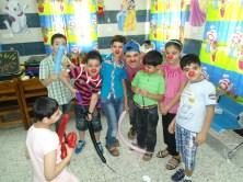 Junto a algunos de nuestros niños