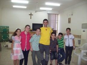 Marco Rodari lleva todos los años alegría a los niños de Irak