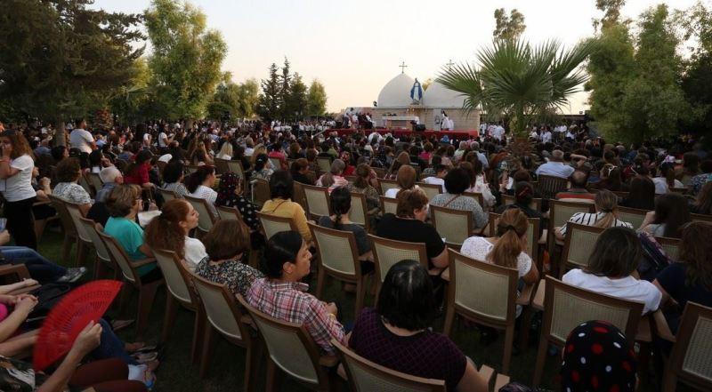 Celebración de la Asunción en Mosul