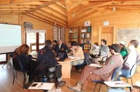 Reunión de los socios del proyecto.