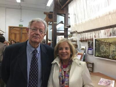Felipe Garín y María José Navarro