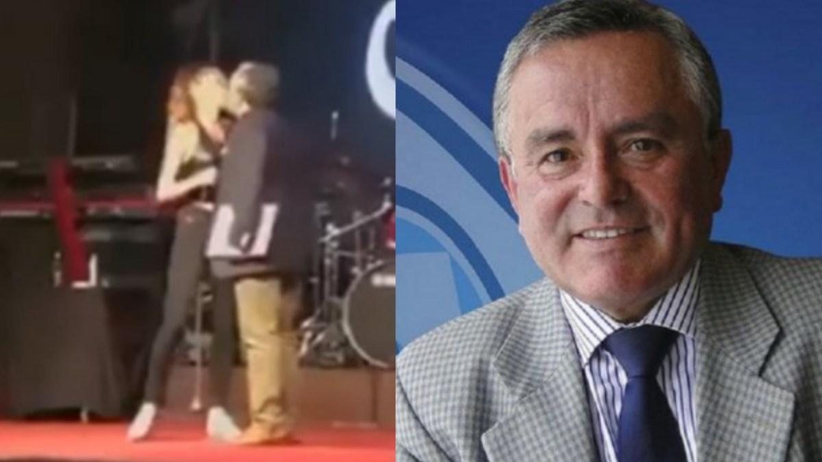 ELLA DEBE PEDIRME DISCULPAS, insólita respuesta de Alcalde a video de acoso