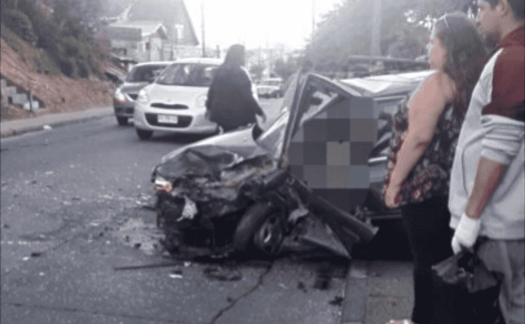 Violento accidente en Puente de Arco, Talcahuano, deja 5 HERIDOS