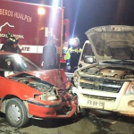 Colisión frontal en Hualpén dejó al menos 3 HERIDOS