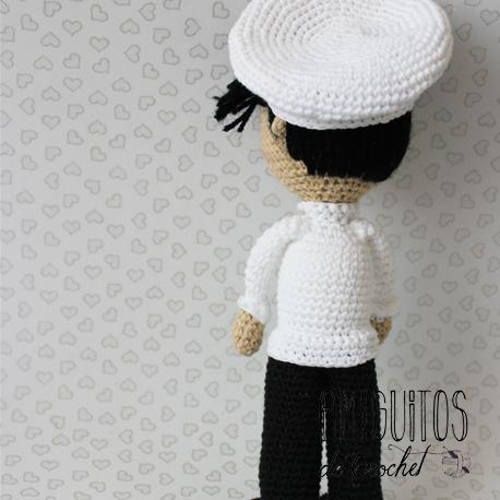 Cocinero amigurumis-Personalizado-Amiguitos de Crochet