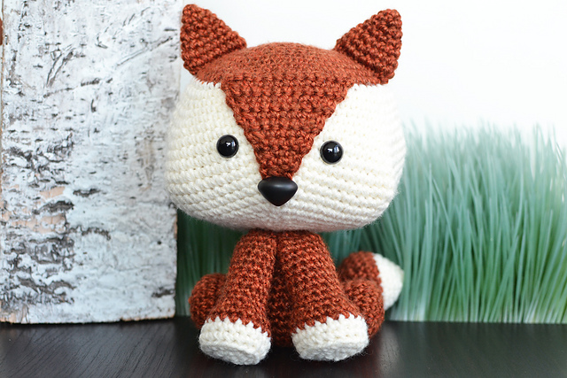 Cute little Amigurumi fox pattern