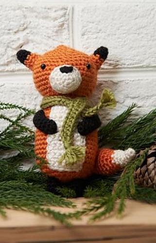 Free fox amigurumi pattern