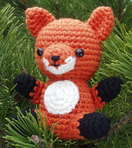 Free crocheted fox pattern